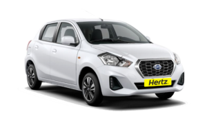 Hertz Rent A Car Datsun Go